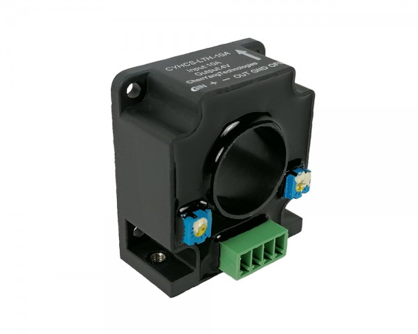 Hall Effect AC/DC Current Sensor CYHCS-LTH, Output: ±4V AC/DC, Power Supply: ±15V DC, Window: Ø20,2mm