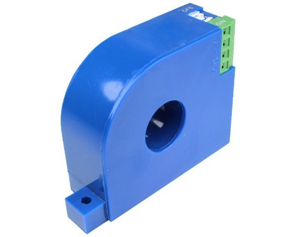AC Leakage Current Sensor CYCS11-33E4, Output: 0-5V DC, Power Supply: +15V DC, Window: Ø21mm