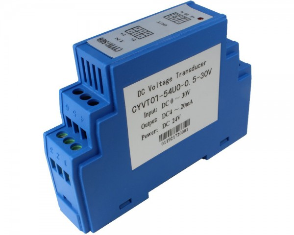 DC Voltage Sensor CYVT01-42U0, Output: 0-20mA DC, Power Supply: +12V DC