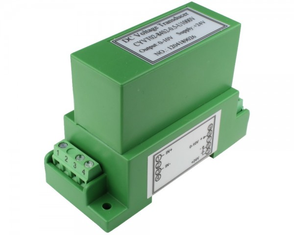 Bidirectional DC Voltage Sensor CYVT02-84S2, Output: 0-10V DC, Power Supply: +24V DC