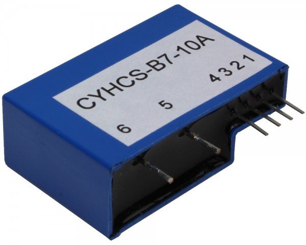 Closed Loop AC/DC Hall Current Sensor CYHCS-B7, Output: ±4V AC/DC, Power Supply: ±15V DC