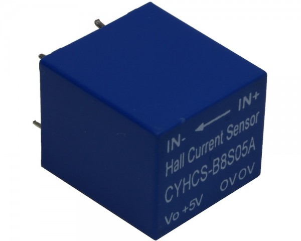 Closed Loop AC/DC Hall Current Sensor CYHCS-B8S, Output: 2.5±0.625V, Power Supply: ±5V
