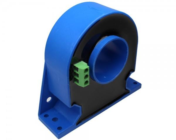 Closed Loop AC/DC Hall Current Sensor CYHCS-D6, Output: 100mA, Power Supply: ±15V ~ ±24V DC, Window: 35mm