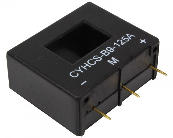 Closed Loop AC/DC Hall Current Sensor CYHCS-B9, Power Supply: ±15V DC, Window: 15.2x10.2