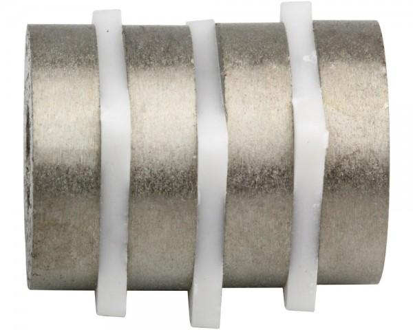 SmCo Ring Magnets M2R08, Dimensions: Ø 15, ø 8 × L, Material grade: S240