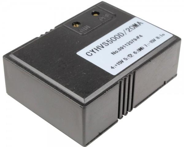 Hall Effect Voltage Sensor CYHVS50D, Input: 50V, Output: ± 20mA, Power Supply: ±12-15VDC, Measuring range: 0-1000V