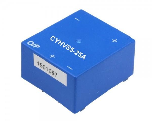 Hall Effect Voltage Sensor CYHVS5-25A, Output: 25mA, Power Supply: ±15VDC, Measuring range: 0-1500V