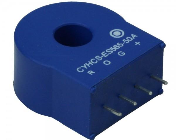 Closed Loop AC/DC Hall Current Sensor CYHCS-ES565, Output: +2.5V±0.625V,Power Supply: +5V,Window: 8.5mm