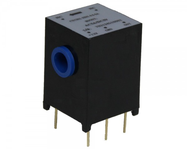 AC Current Sensor CYCS11-82H1, Output: 0-10V DC, Power Supply: +12V DC, Window: Ø6,5mm