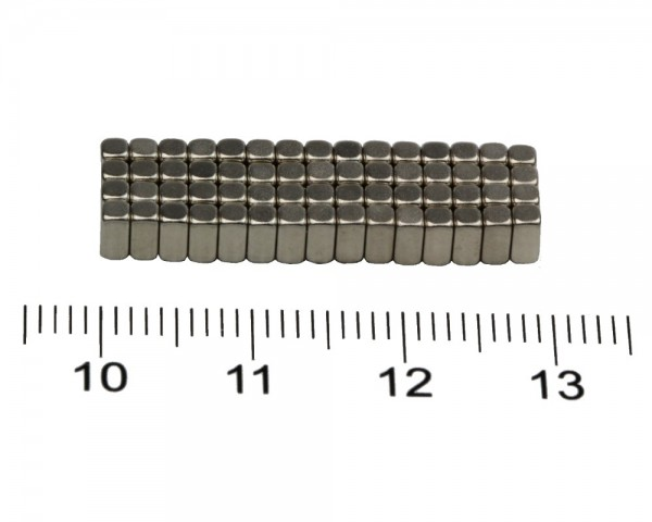 NdFeB Block Magnets, Dimensions : 4xWxH (Length>Width>Heigth) , Material grade: N38