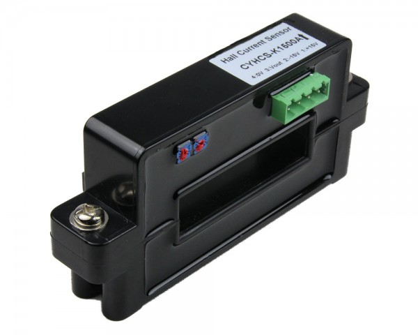 Hall Effect Current Sensor CYHCS-K, Output: ±4V AC/DC, Power Supply: ±12V~±15 V DC, Window: 64x16mm