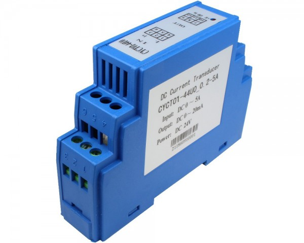 DC Curent Sensor CYCT01-44U0, Output: 0-20mA DC, Power Supply: +24V DC
