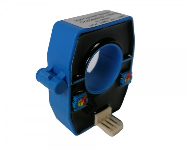 Hall Effect AC/DC Current Sensor CYHCS-EKGT, Output:2,5±2V ,Power Supply: +12VDC, Window:Ø20,5mm