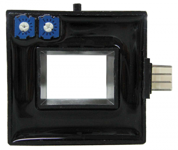 Hall Effect Current Sensor CYHCS-N, Output: ±4V AC/DC, Power Supply: ±15 V DC, Window: 20,5x15,5mm