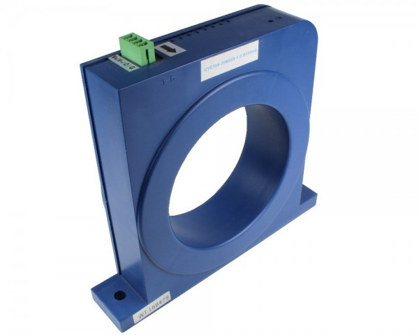 Bidirectional DC Leakage Current Sensor CYCT04-35M85B, Output: 0-5V DC, Power Supply: ±12V DC,Window: Ø85mm