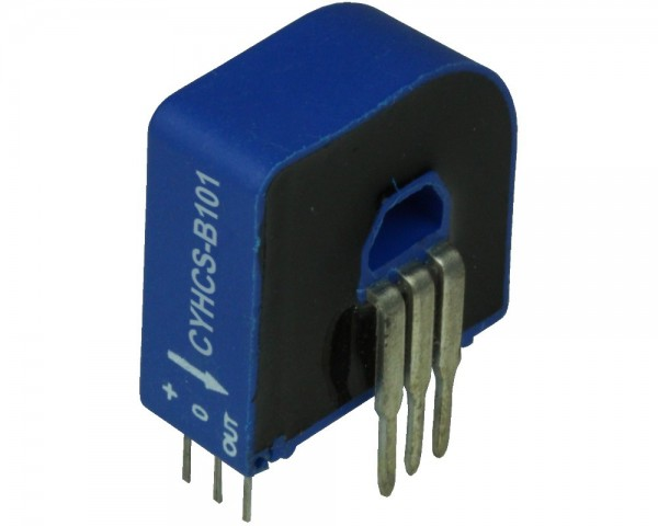 Closed Loop AC/DC Hall Current Sensor CYHCS-B101,Output: ±12.5mA,±25mA,Power Supply: +15V DC,Window: 6.6 x 4.3