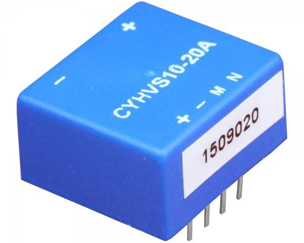 Hall Effect Voltage Sensor CYHVS10-20A, Output: 20mA, Power Supply: ±15 V DC, Measuring range: 0-1000V
