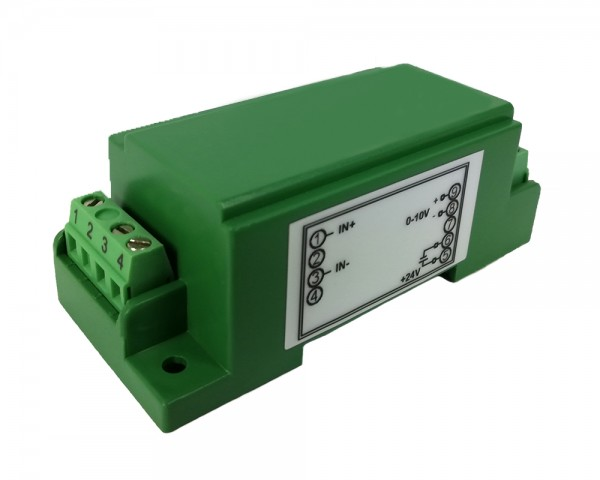 Unidirectional DC Current Sensor CYCT02-84S1, Output: 0-10V DC, Power Supply: +24V DC