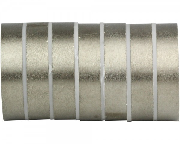 SmCo Ring Magnets M2R08, Dimensions: Ø 25, ø 5 × 3, Material grade: S240
