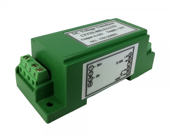 Bidirectional DC Voltage Sensor CYVT01-83S1, Output: 0-10V DC, Power Supply: +15V DC