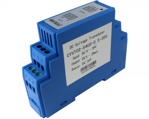 DC Voltage Sensor CYVT02-xnU0, Output: 0-5 V DC,Power Supply: +12 V DC