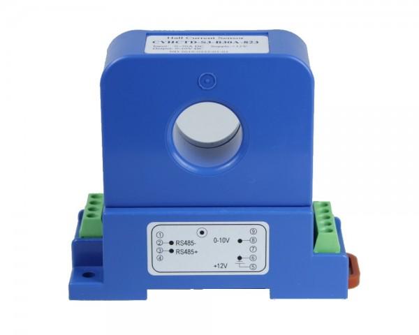 Hall-Effekt-DC-Strommesser- DIN-Rail-Adapter