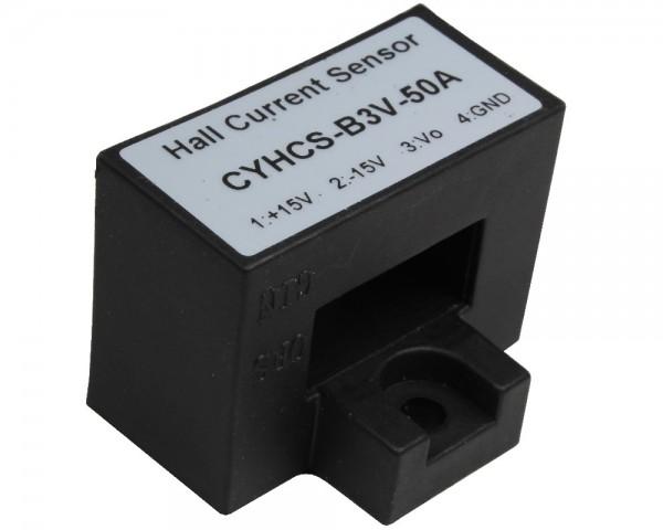Closed Loop AC/DC Hall Current Sensor CYHCS-B3V, Output: ±4V AC/DC, Power Supply: ±15V DC, Window: 20.5x10.5