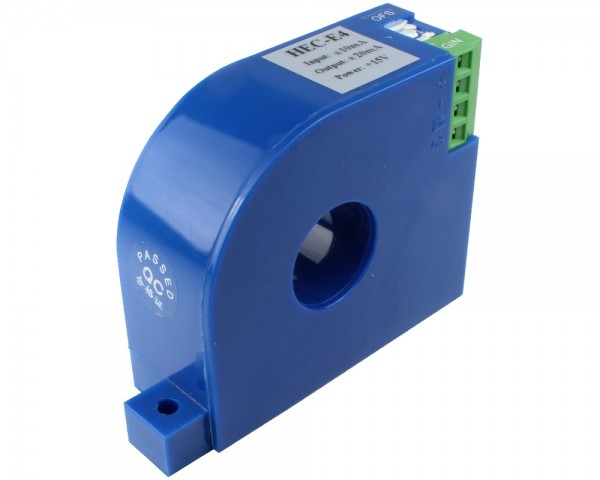 Bidirectional DC Leakage Current Sensor CYCT04-05E4,Output: 0-4V DC,Power Supply: ±12V DC,Window: Ø21mm