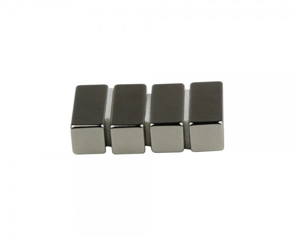 NdFeB Block Magnets, Dimensions: 25xWxH (Length>Width>Heigth) , Material grade: N38