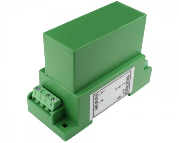 Unidirectional DC Current Sensor CYCT02-82S2, Output: 0-10V DC, Power Supply: +12V DC