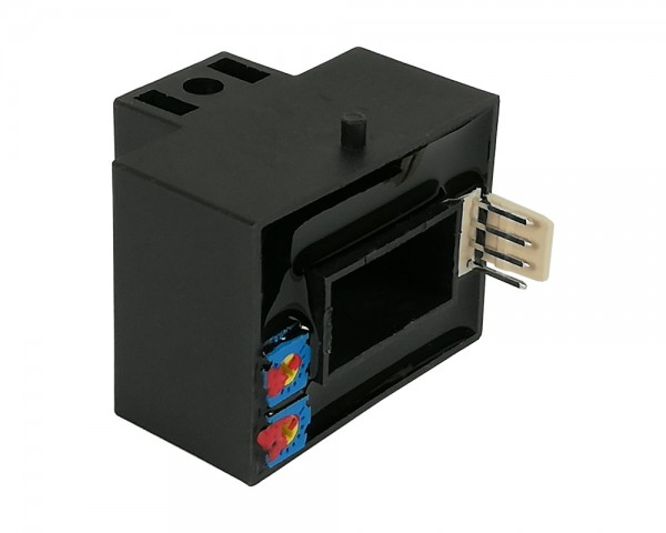 Hall Effect AC Current Sensor CYHCS-BTV, Output: 0-10 V DC, Power Supply:+24 V DC, Window: 20,5x10,5
