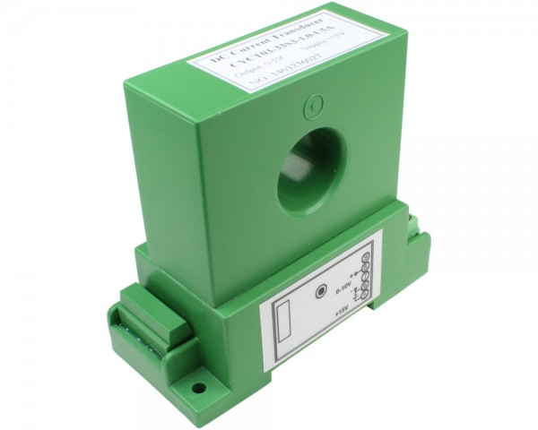 DC Current Sensor CYCT03-82S3, Output: 0-10V DC,Power Supply: +12V DC