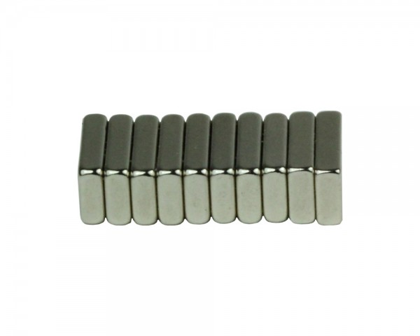 NdFeB Block Magnets, Dimensions: 12xWxH (Length>Width>Heigth) , Material grade: N38