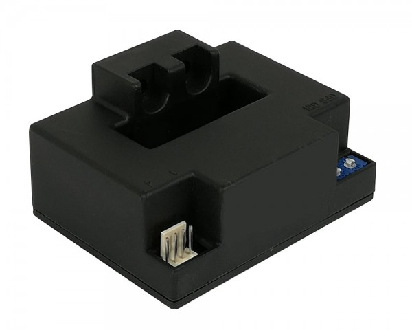 Unidirectional Hall Effect DC Current Sensor CYHCT-FV, Output: 0-4VDC,Power Supply: +24VDC,Window: 41x14