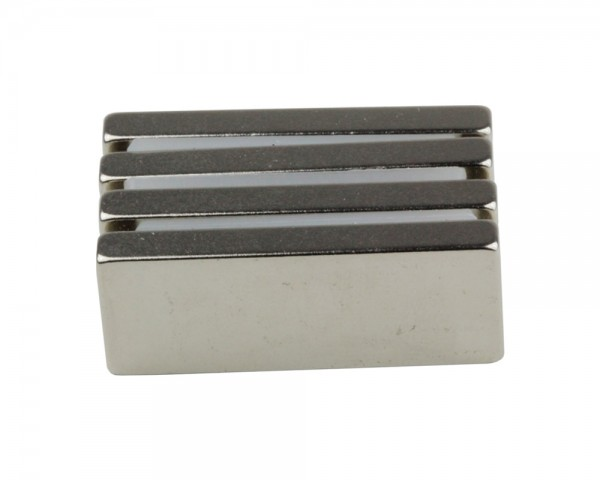 NdFeB Block Magnets, Dimensions: 40xWxH (Length>Width>Heigth) , Material grade: N38