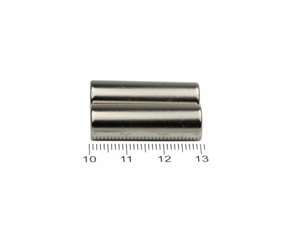 NdFeB Disc Magnets, Dimensions: Ø 10 x L (various lengths), Material grade: N38