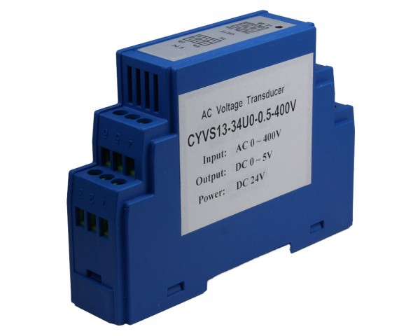 AC Voltage Sensor CYVS13-52U0, Output: 4-20mA DC, Power Supply: +12V DC