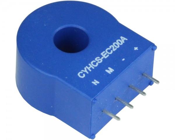 Closed Loop AC/DC Hall Current Sensor CYHCS-EC, Output: 1mA ~ 100mA, Power Supply: ±12V ~ ±18V, Window: 8.5mm